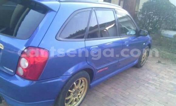 Buy Used Mazda Familia Blue Car in Manzini in Swaziland