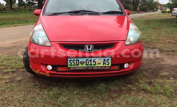 Buy Used Honda Fit Red Car in Manzini in Swaziland