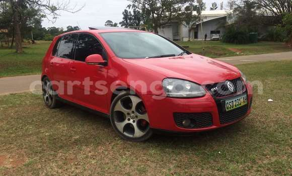 Buy Used Volkswagen Golf Red Car in Manzini in Swaziland