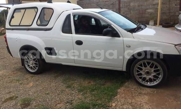 Buy Used Opel Corsa Bakkie White Car in Manzini in Swaziland