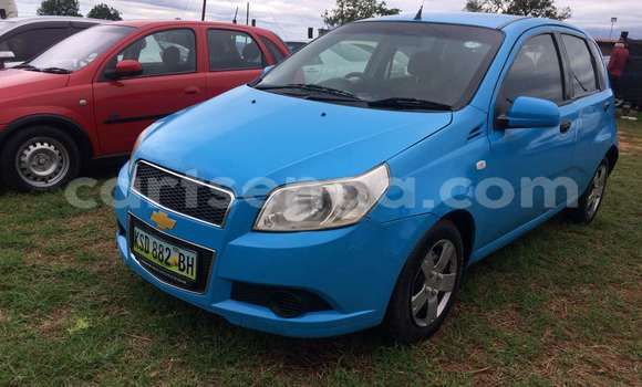 Buy Used Chevrolet Aveo Blue Car in Manzini in Swaziland