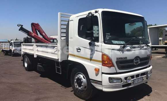 Medium with watermark hino truck hino 500 13 237 dropside with fassi f80 crane 2008 id 60833609 type main