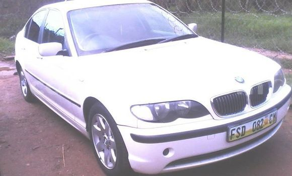 Buy Used BMW 3-Series White Car in Manzini in Swaziland