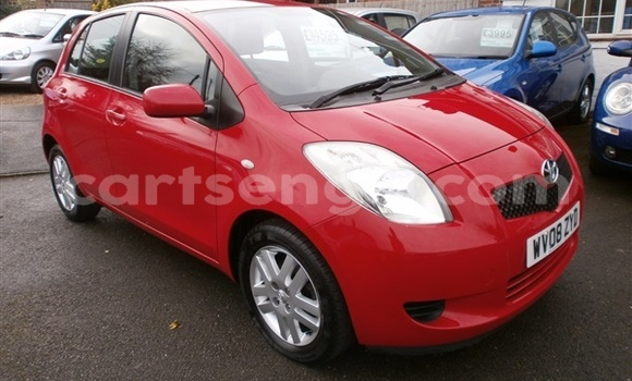 Buy Used Toyota Yaris Red Car in Manzini in Swaziland