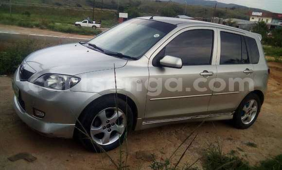 Buy Used Mazda Demio Silver Car in Manzini in Swaziland