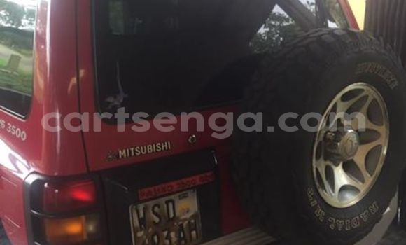 Buy Used Mitsubishi Pajero Red Car in Manzini in Swaziland