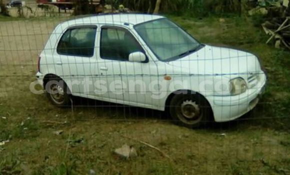 Buy Used Nissan March White Car in Manzini in Swaziland