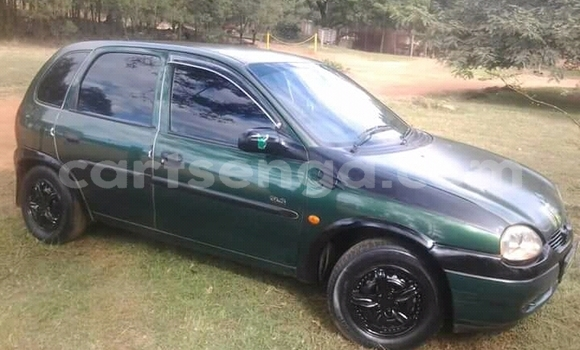 Buy Used Opel Corsa Green Car in Manzini in Swaziland