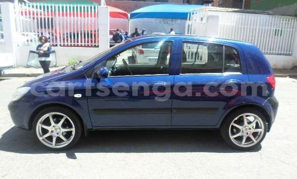 Buy Used Hyundai Getz Blue Car in Manzini in Swaziland