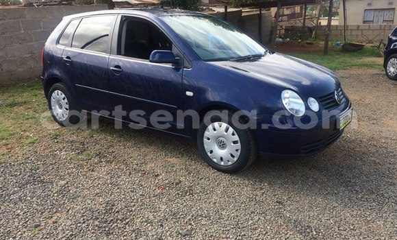 Buy Used Volkswagen Polo Blue Car in Manzini in Swaziland