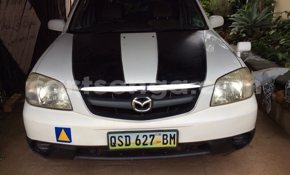 Buy Used Mazda Tribute White Car in Manzini in Swaziland