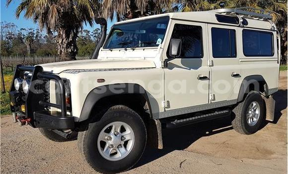 Buy Used Land Rover Defender White Car in Mbabane in Swaziland