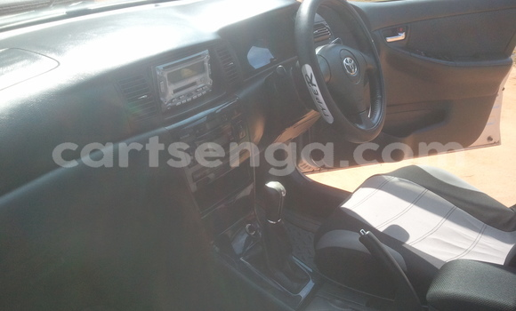 Buy Used Toyota Allex Silver Car in Manzini in Swaziland