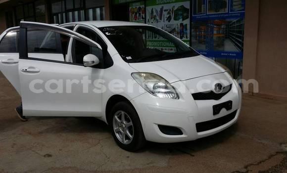 Buy Used Toyota Vitz Silver Car in Manzini in Swaziland