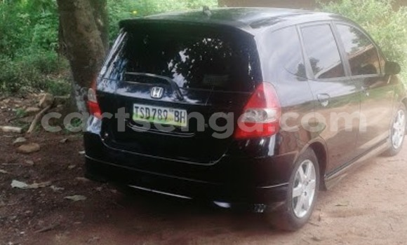 Buy Used Honda Fit Black Car in Mbabane in Swaziland