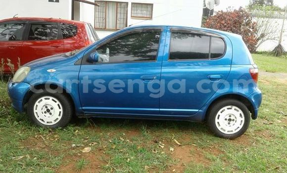 Buy Used Toyota Vitz Blue Car in Manzini in Swaziland