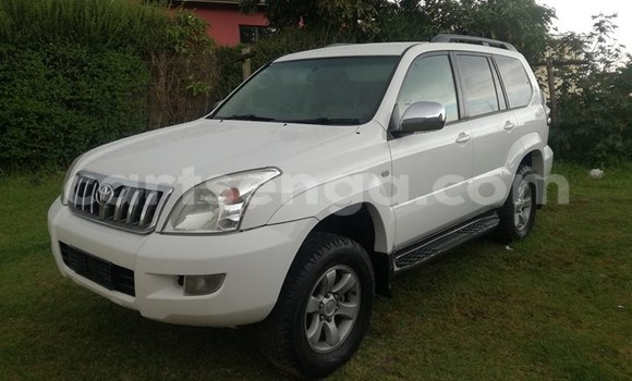 Buy Used Toyota Land Cruiser Prado White Car in Mbabane in Swaziland