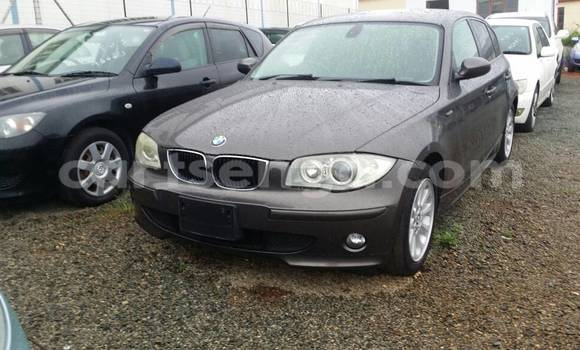 Buy Used BMW 1-Series Black Car in Mbabane in Swaziland
