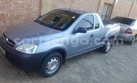 Buy Used Opel Corsa Bakkie Silver Car in Manzini in Swaziland