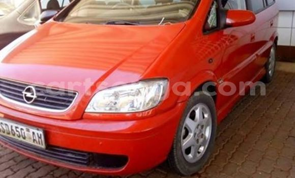 Buy Used Opel Zafira Red Car in Manzini in Swaziland