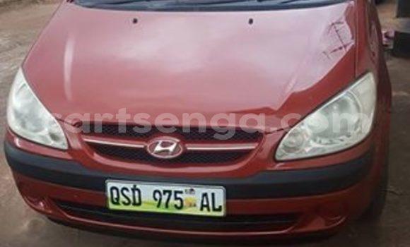 Buy Used Hyundai Getz Red Car in Manzini in Swaziland
