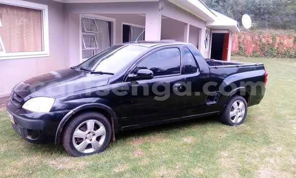 Buy Used Opel Corsa Bakkie Black Car in Mbabane in Swaziland