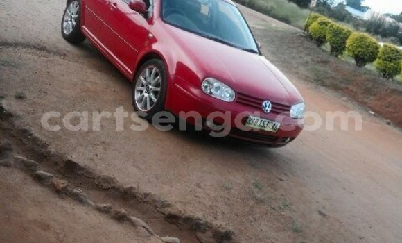 Buy Used Volkswagen Golf Red Car in Mbabane in Swaziland