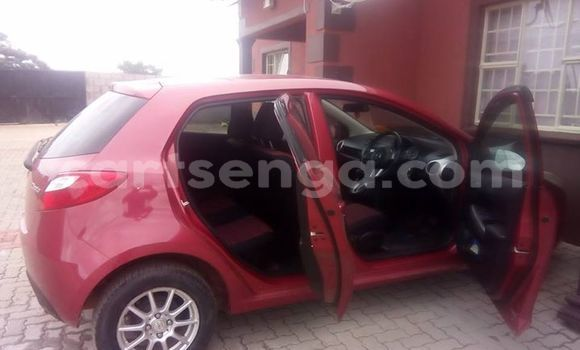 Buy Used Mazda 2 Red Car in Manzini in Swaziland
