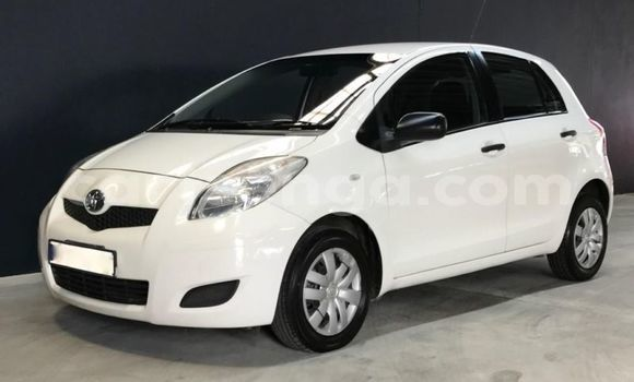 Buy Used Toyota Yaris White Car in Manzini in Swaziland