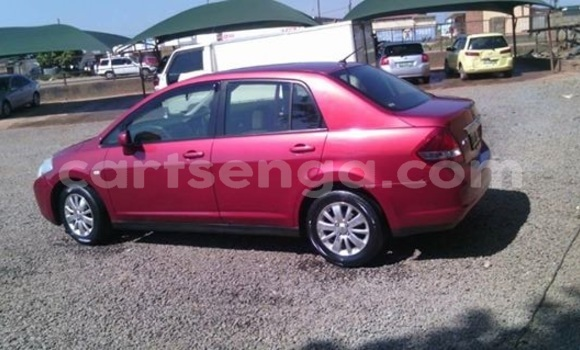 Buy Used Nissan Tiida Red Car in Manzini in Swaziland