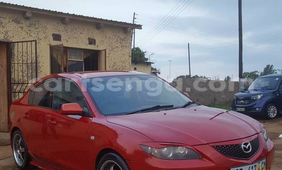 Buy Used Mazda Mazda 3 Red Car in Manzini in Swaziland