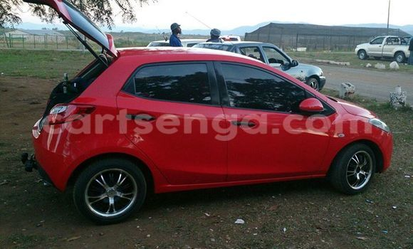 Buy Used Mazda 323 Red Car in Manzini in Swaziland