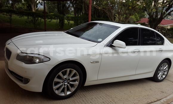 Buy Used BMW 5-Series White Car in Manzini in Swaziland