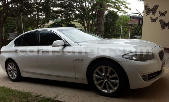Buy Used BMW 5-Series White Car in Manzini in Swaziland