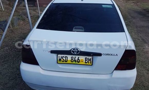 Buy Used Toyota Corolla White Car in Manzini in Manzini