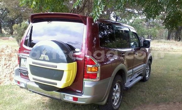Buy Used Mitsubishi Pajero Red Car in Manzini in Manzini
