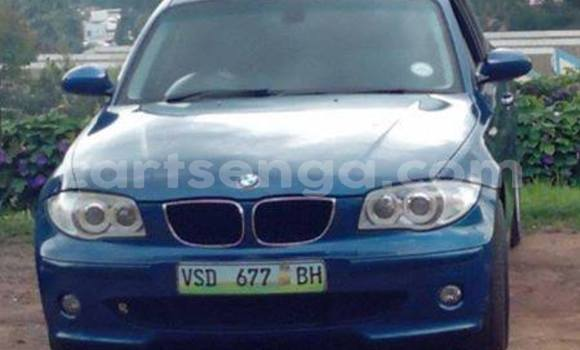 Buy Used BMW 1–Series Blue Car in Mbabane in Manzini