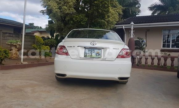 Buy Used Toyota Mark X White Car in Manzini in Manzini