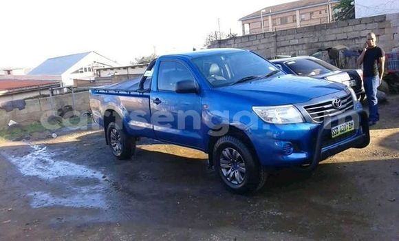 Buy Used Toyota Hilux Blue Car in Manzini in Manzini
