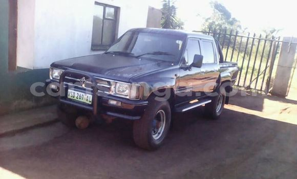 Buy Used Toyota Hilux Black Car in Siteki in Lubombo District