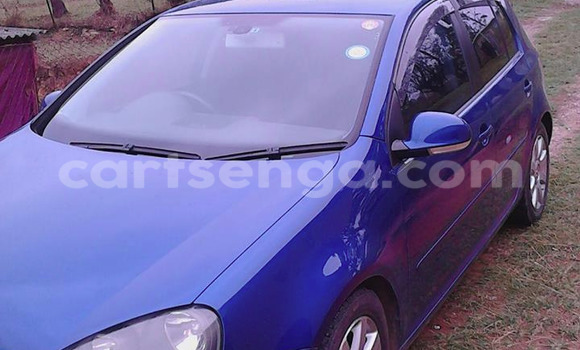 Buy Used Volkswagen Golf Blue Car in Malkerns in Swaziland