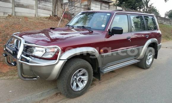 Buy New Nissan Patrol Red Car in Mhlume in Swaziland
