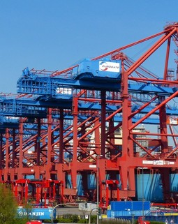 Thumb container gantry crane container container handling container ship port cargo hamburg port freighter 1038430.jpg d
